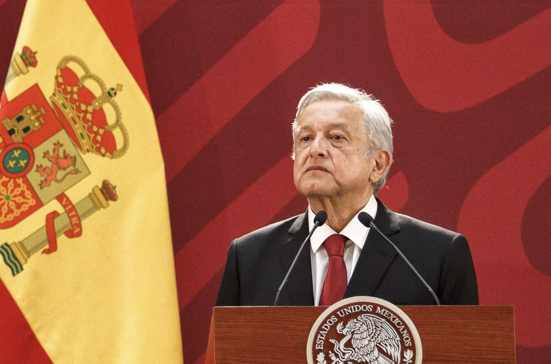 AMLO pide a España mediante una carta, una disculpa por los actos de la conquista