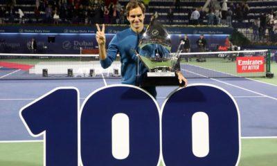 Roger Federer, 100, títulos, Tenis, deporte blanco, venció, mejor jugador, Gran Slam, Dubai, juego, deporte, cancha, raqueta,