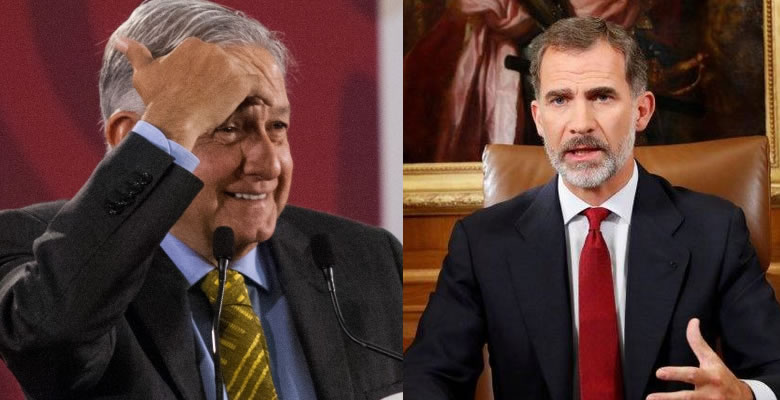 AMLO, Andrés Manuel, López Obrador, España, Rey, Disculpa, Conquista, Firmeza, Carta,