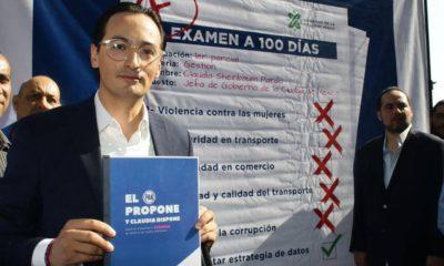 Andrés Atayde PAN CDMX Claudia Sheinbaum 100 días