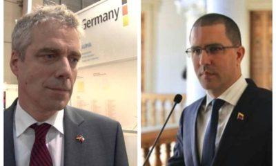Daniel Kriener, embajador de Alemania en Venezuela, fue expulsado esta mañana de ese país