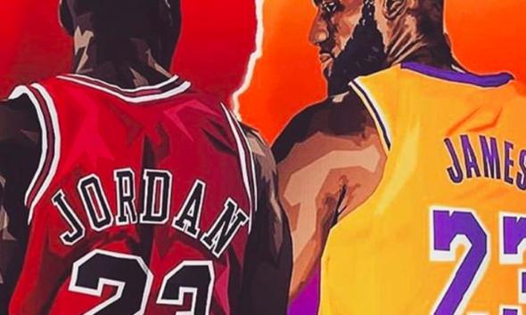 LeBron James supera a su ídolo Michael Jordan