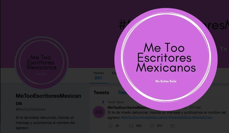 #MeToo, Escritores, músicos, artistas, periodistas, acoso, abuso, sexual , denuncias, Twitter, acusaciones,