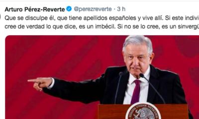 Arturo Pérez-Reverte, Imbécil, AMLO, España. Rey de España, Conquista, Perdón, Escritor, Apellidos, Rey, De España,