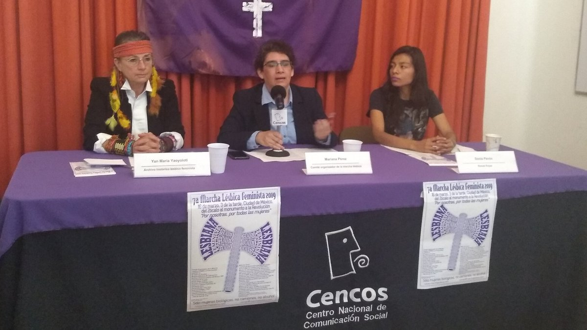 Lesbofeministas CDMX Gobiernos Patriarcales