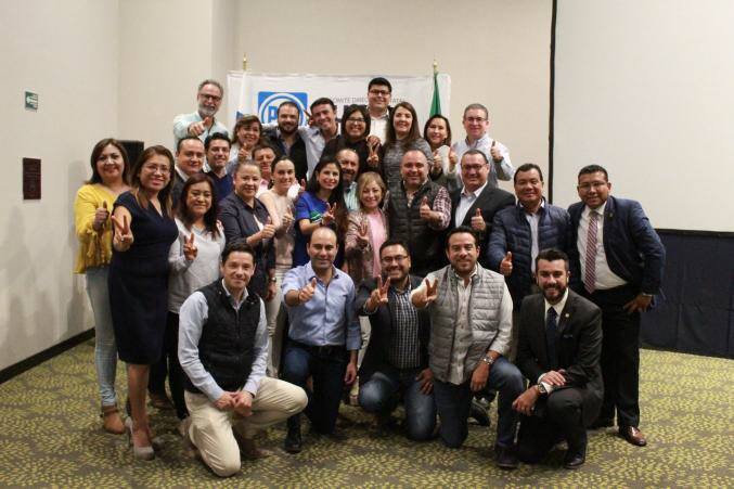 Puebla PAN candidaturas, México números estadísticas