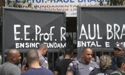 Tiroteo, Brasil, Raul Brasil, Menores, muertos, maestros, alumnos, disparos, armas, arcos, flechas, ballesta,