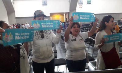 AMLO, Andrés Manuel, López Obrador, Feministas, Pañuelos Verdes, MArcha, Mujers, aborto, pro vida, Frente NAcional, Familia,