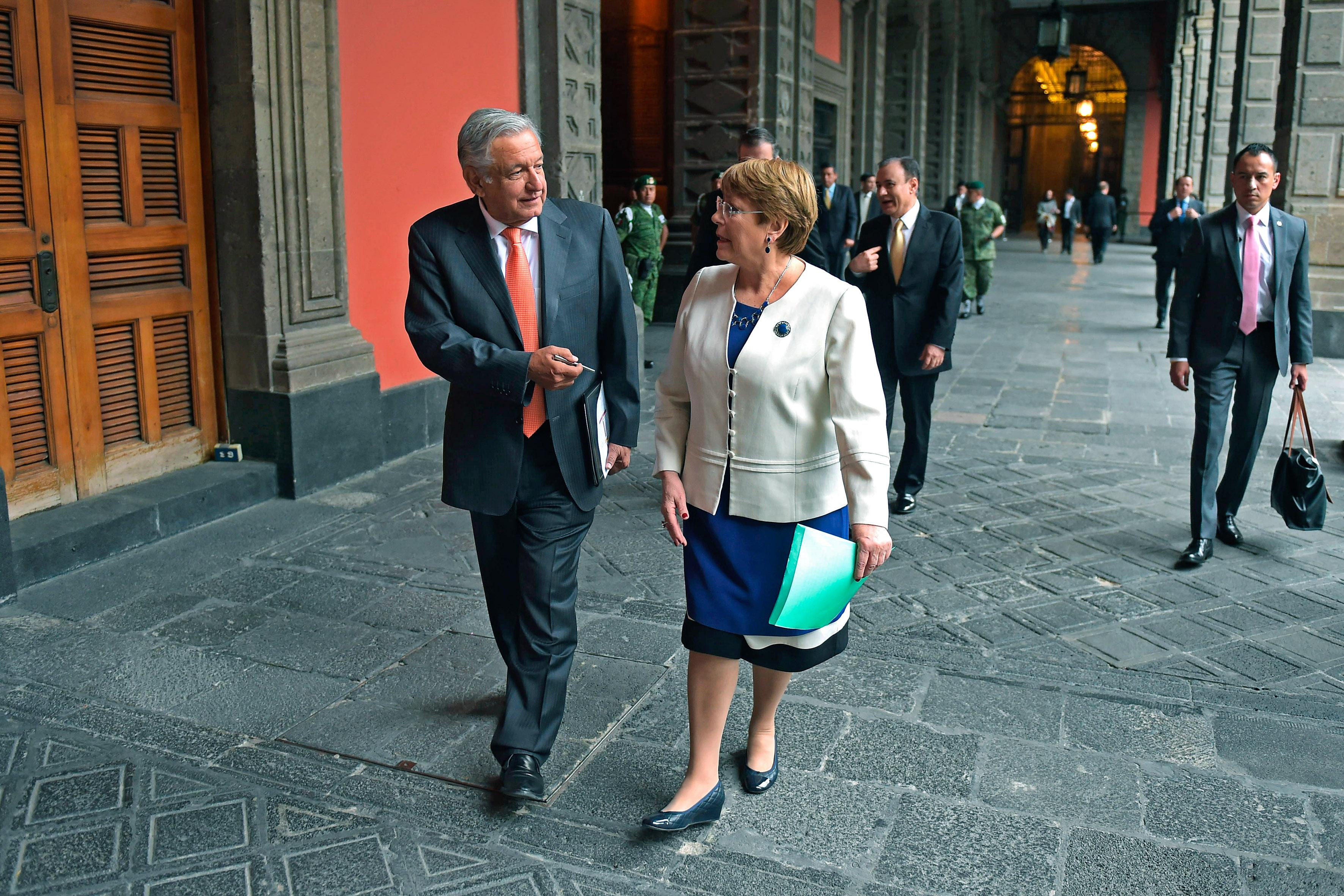 Michelle Bachelet y más en los números de México y el mundo