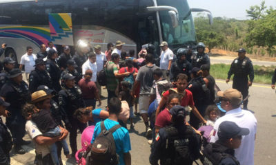 INM: se actuó ante migrantes respondiendo a agresión