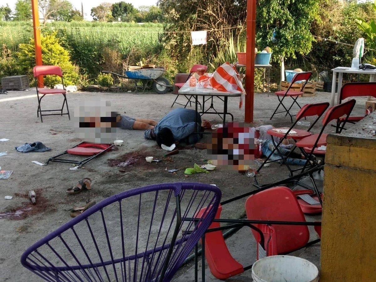 Cuautla Restaurant asesinan