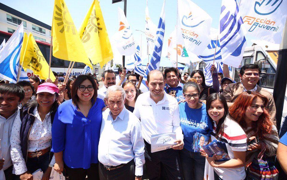 Marko Cortés PAN Cárdenas Barbosa Puebla