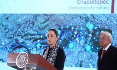 Chapultepec será el espacio cultural 'más grande e importante del mundo', prometen AMLO y Sheinbaum