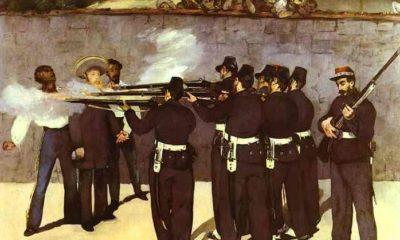 Benito Juárez fusilamiento cerro de las campañas Maximiliano de Habsburgo