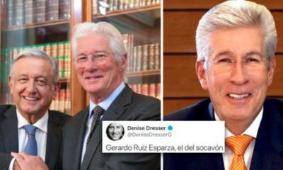 Denise Dresser, Richard Gere, Gerardo Ruiz Esparza, Confunde, Socavón, AMLO, Andrés Manuel, López Obrador,