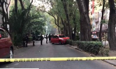 Condesa, Balacera, Auto, Campeche, Ometusco, Cuauhtémoc, muerto, herido,
