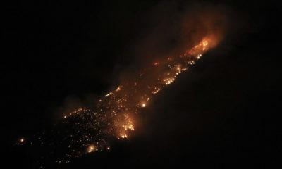 Incendios activos en México/ La Hoguera