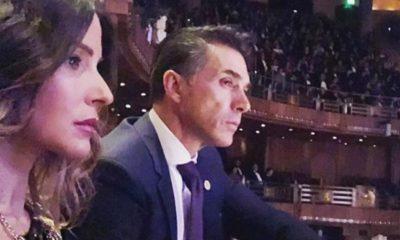 Sergio Mayer estuvo presente en la polémica función de Bellas Artes