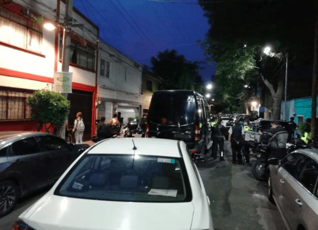 Tras balacera en la alcaldía Miguel Hidalgo, detienen a 2