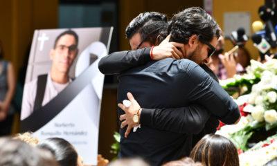 Con misa, familiares y amigos le dan el último adiós a Norberto