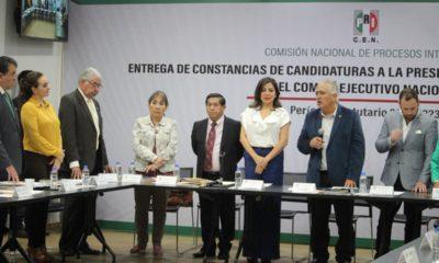 PRI avala registro de 'Alito', Piñón y Ortega; rechaza a Ulises Ruiz