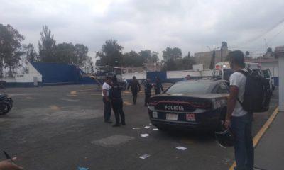 Policía muere al intentar frustrar asalto en banco de Iztapalapa