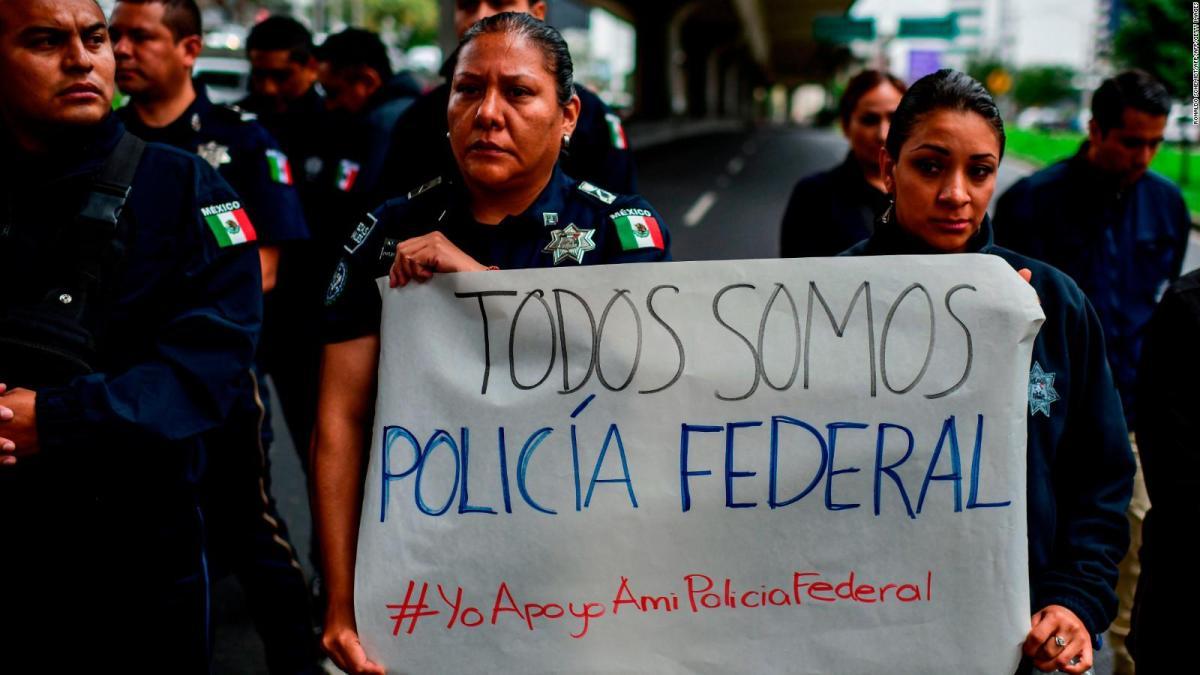 Resultado de imagen para policia federal protestas