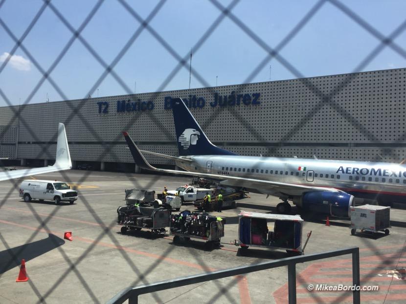 tráfico aéreo internacional México