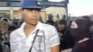 Identifican al agresor del reportero en marcha de mujeres