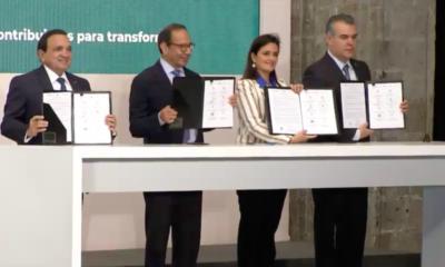 SAT e IP firman Decálogo Fiscal