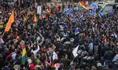 Evo Morales gana por cuarta vez; exigen segunda vuelta