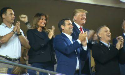 Trump, Donald Trump, Serie Mundial, Abucheado, Gritos, Nationals,