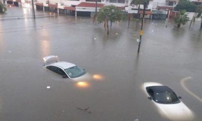 Inundación, Mazatlán, Sinaloa, Culiacán, Lluvias, tormenta, Agua, Bajo, Afectaciones, Clima,