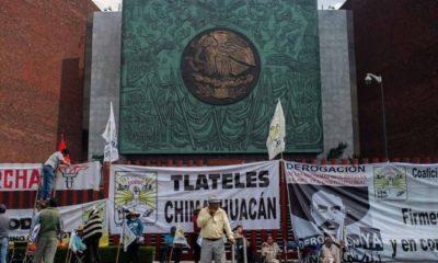 Campesinos vuelven a cerrar San Lázaro; reclaman más recursos en 2020