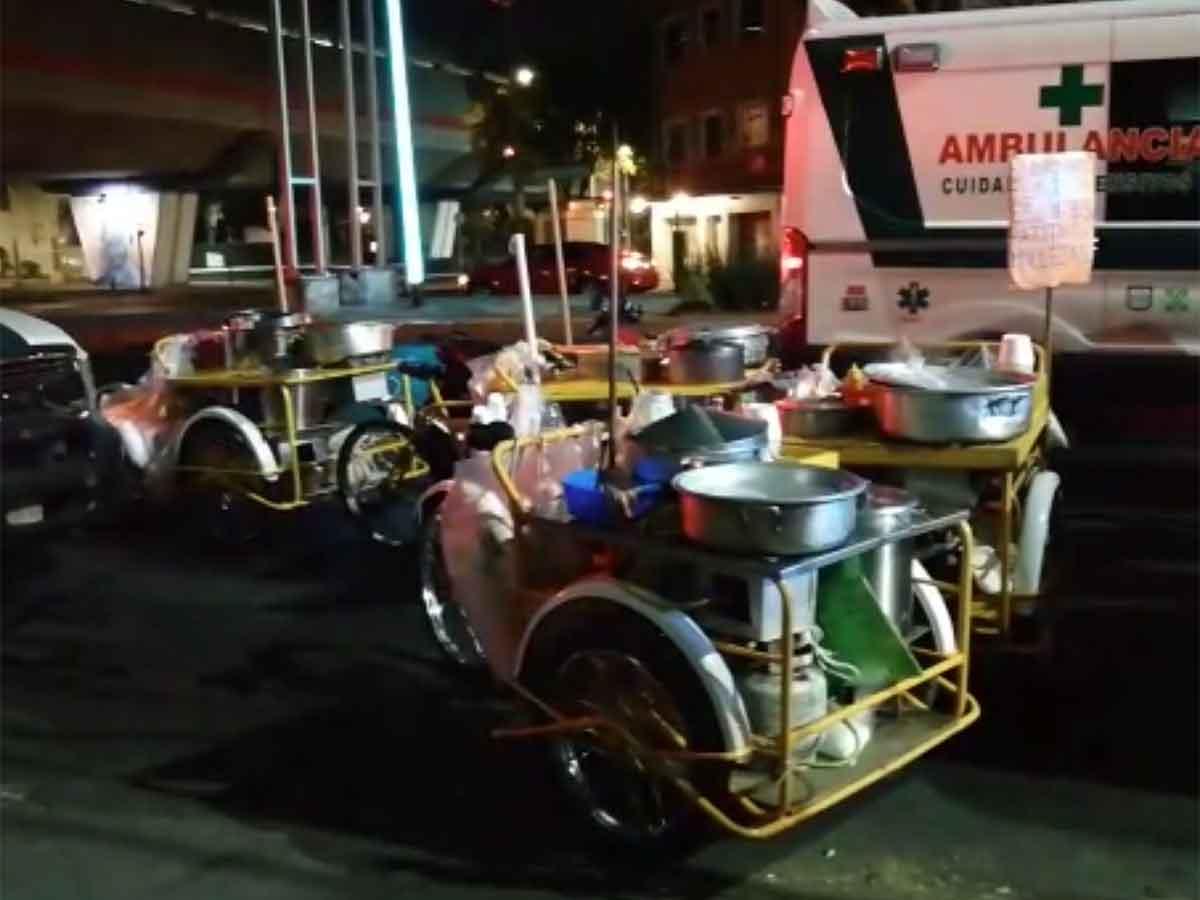 Nadie se salva: asaltan a vendedores de elotes en alcaldía Venustiano Carranza