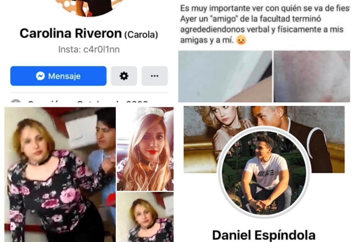 KAren, Daniel, Espíndola, Carolina, Agresión,