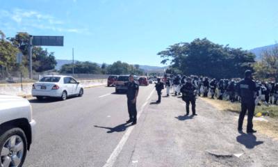 Quita Guardia Nacional bloqueo en Autopista del Sol