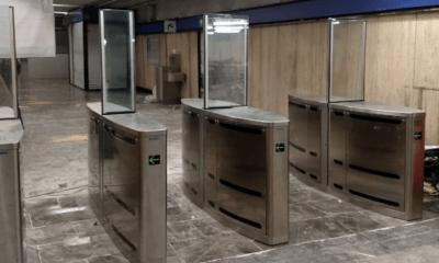 Metro, Entrada, Cambio, Torniquete, Torniquetes, Sensores,