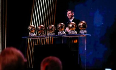 Messi, el primero en ganar 6 balones de oro