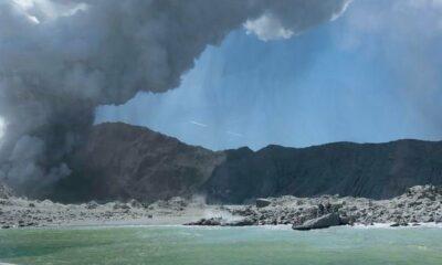 Luna de miel en Nueva Zelanda deja de serlo tras erupción del volcán Whakaari