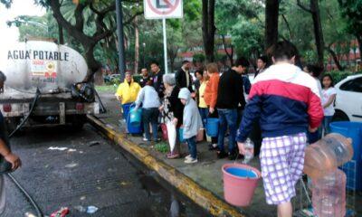 Habitantes de Iztapalapa se quedarán sin agua este fin de semana
