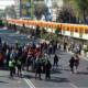 Pensionados se manifiestan y bloquean calzada de Tlalpan
