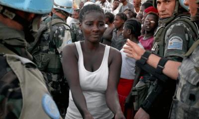 Cascos,, Azules, Haití, Bebés, Hijos, Abuso, Sexual, Chile, Chilenos, Militares,