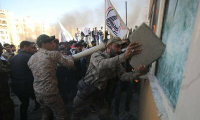 Cohete explota cerca de embajada estadounidense en Bagdad