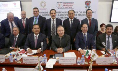 Durazo se reúne con la Comisión de Seguridad de Conago