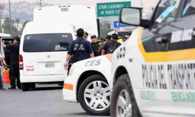 Captan nuevo asalto a transporte público en Naucalpan