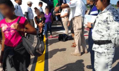 Segundo vuelo de repatriación de hondureños; suman 219