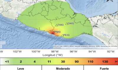 Sismo, Sismos, Temblor, Movimiento, Telúrico, Alerta, Guerrero, Oaxaca, Pinotepa,