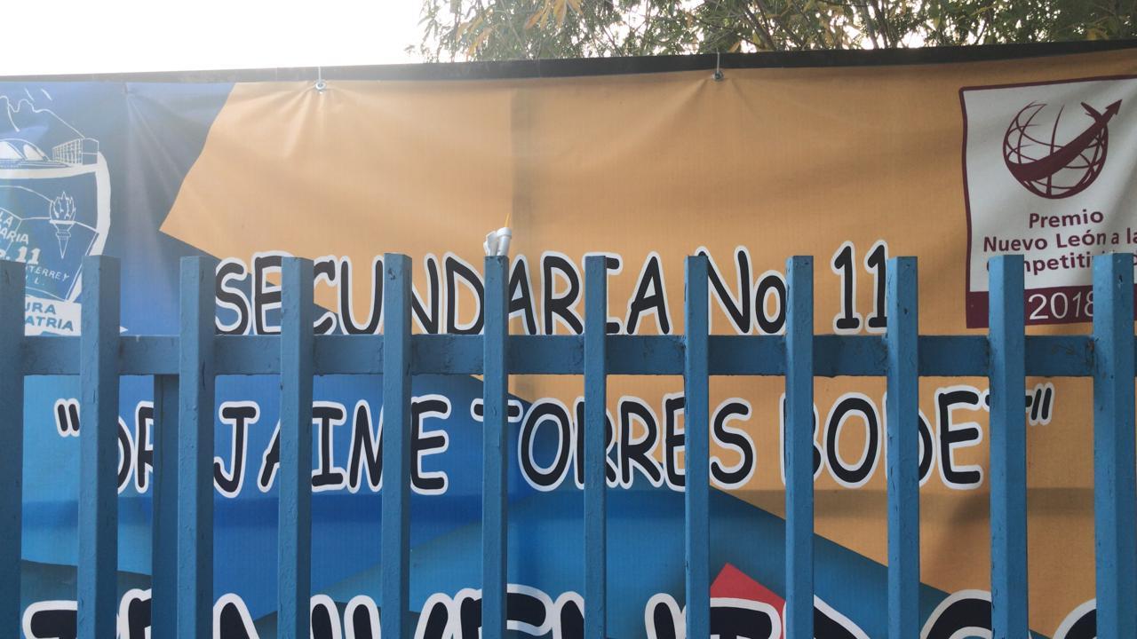 """Alumno alarma al """"bromear"""" con iniciar tiroteo en escuela de Monterrey"""