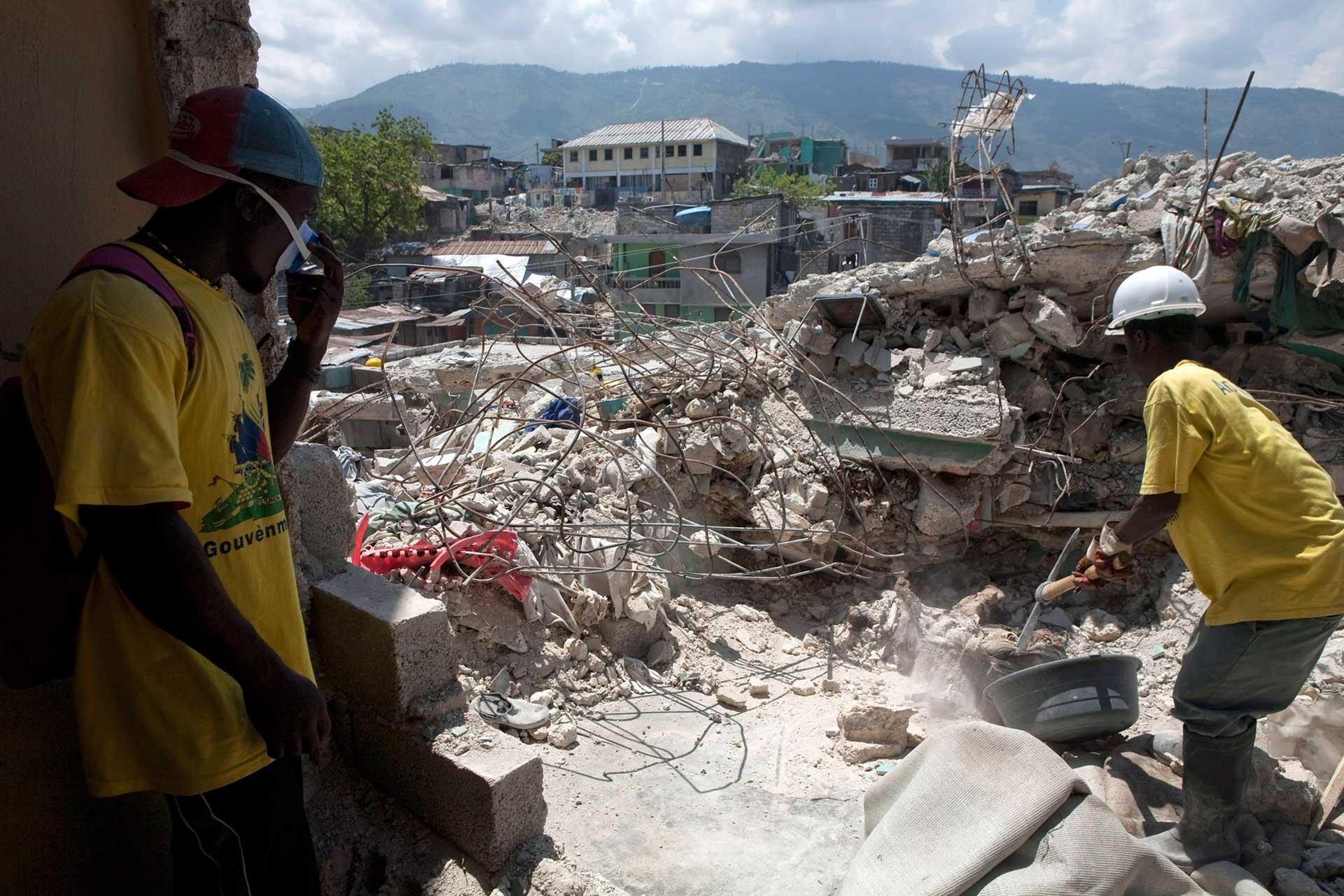 Haití sufre en lo económico y social a 10 años del gran terremoto